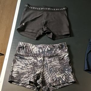 Bundle of 3 spandex shorts(can be bought separate)